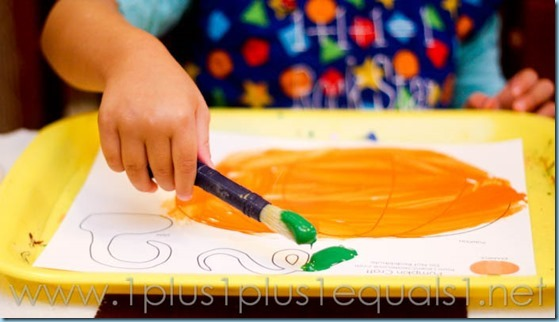 Home Preschool Pumpkins -9596