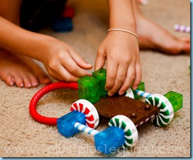 Homeschool Learning Resources Candy Construction Building Set-8322