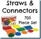 Straws and Connectors 705 piece