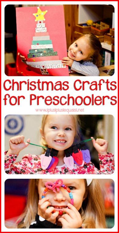 Christmas crafts for preschoolers 1 1 1 1
