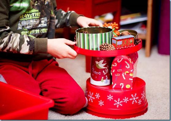 Christmas Sensory bin -5266