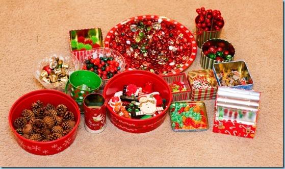 Christmas Sensory bin -6471