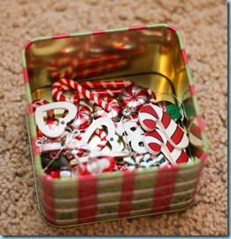 Christmas Sensory bin -6479