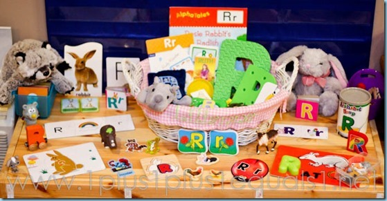 Home Preschool Letter R -0604
