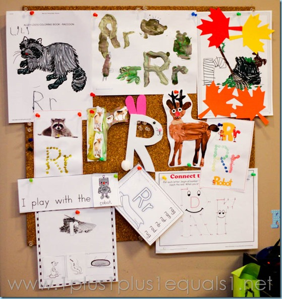 Home Preschool Letter R -0809