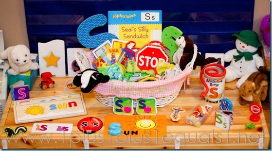 Home Preschool Letter S -0814