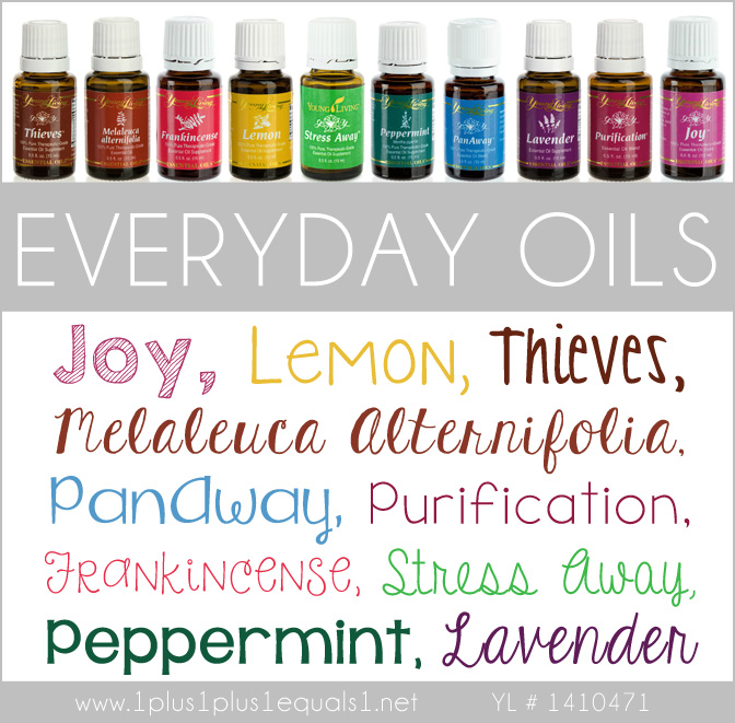 Everyday Oils Kit 2015