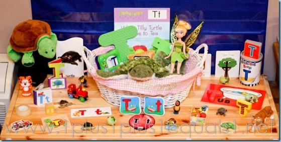 Home Preschool Letter T -3044