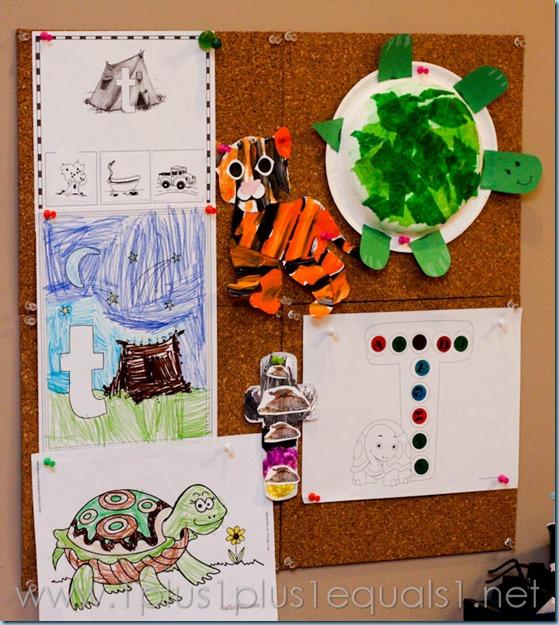 Home Preschool Letter T -3458