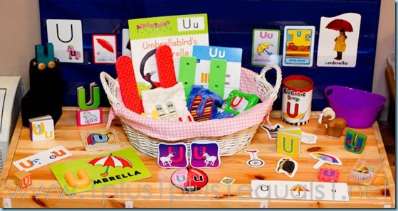 Home Preschool Letter U -3476