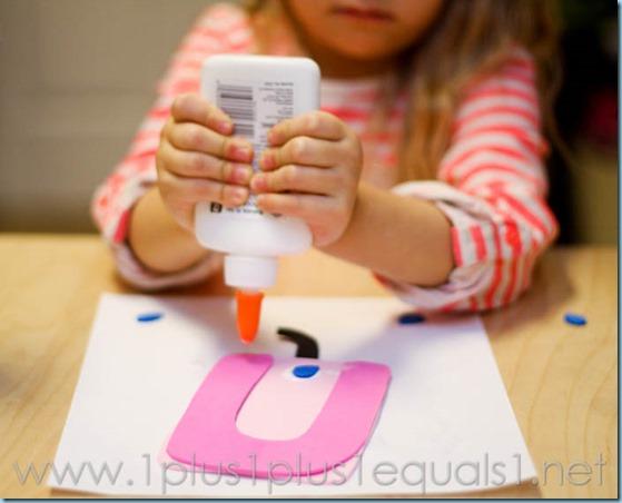 Home Preschool Letter U -3534