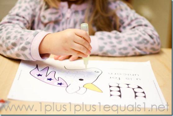 Home Preschool  Letter U -3663