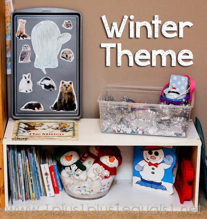 winter theme preschool fun