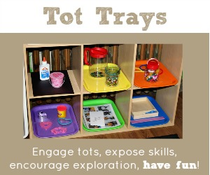 Tot Trays for Tot School