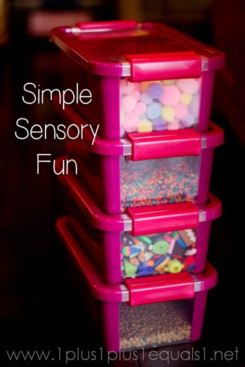Weekly Sensory Exploration Boxes
