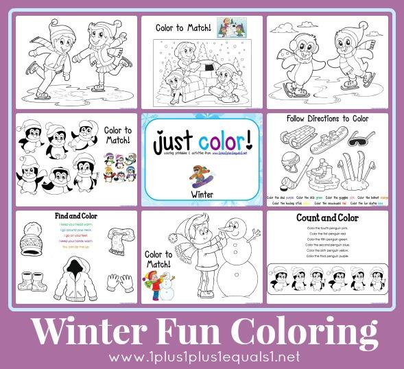 Just Color Winter Fun 1 1 1 1