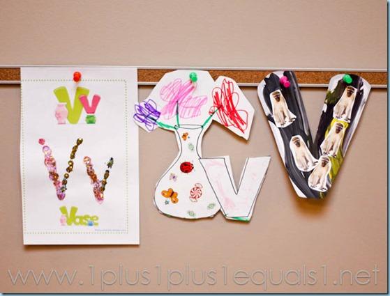 Home Preschool Letter V -5283