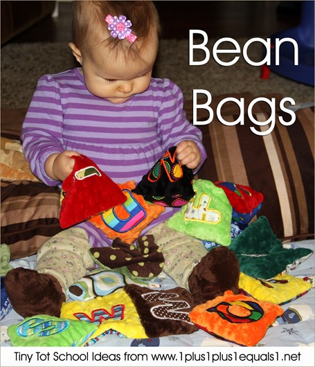 Tiny Tot School Bean Bags 9-12 months