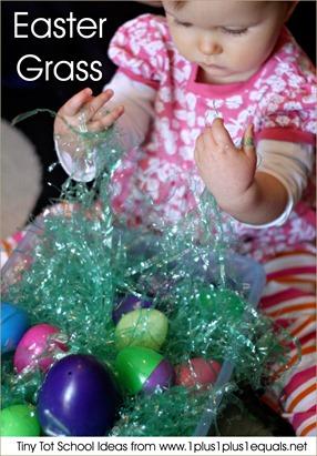 Tiny Tot School Easter Grass 9-12 months
