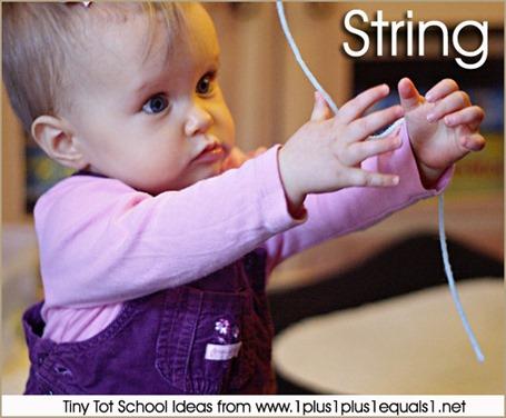 Tiny Tot School  Exploring String 9-12 months