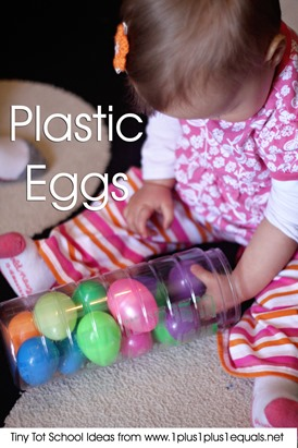 Tiny Tot School Plastic Eggs 9-12 months