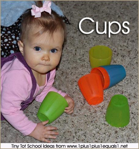 Tony Tot School Cups 9-12 months
