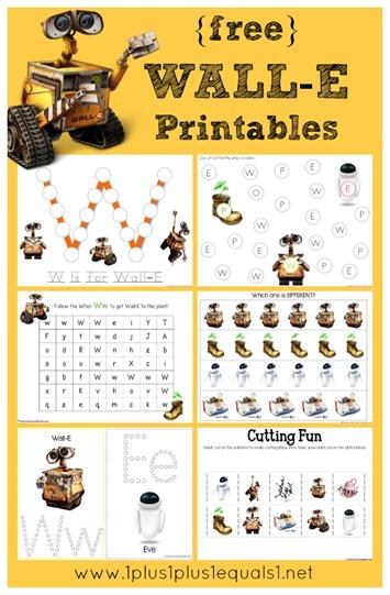 Wall-E Printables
