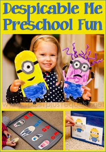 Despicable Me Preschool Fun