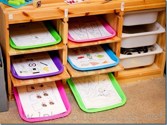 Home Preschool Letter W -5316