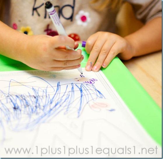 Home Preschool Letter W -5323