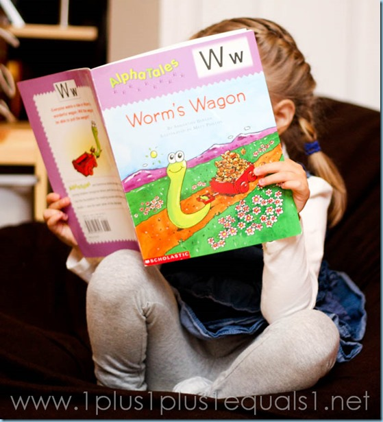 Home Preschool Letter W -5372