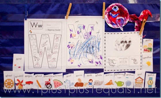 Home Preschool Letter W -5642