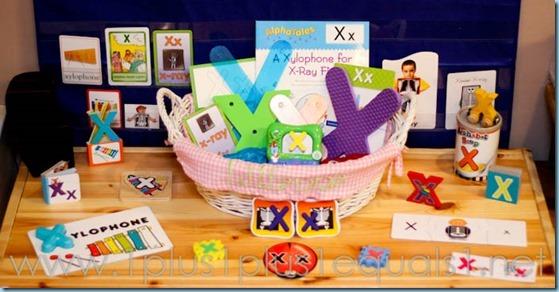 Home Preschool Letter X -5649