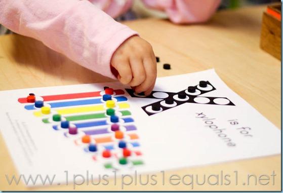 Home Preschool Letter X -5736