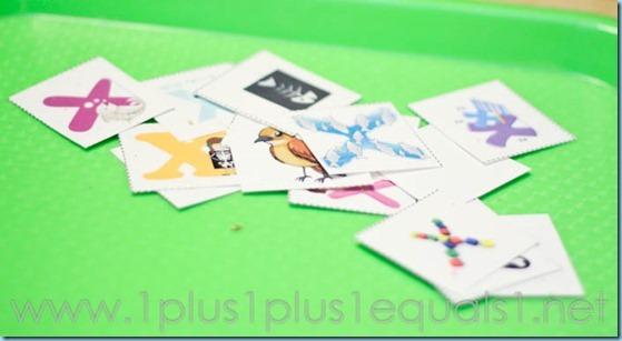 Home Preschool Letter X -5819