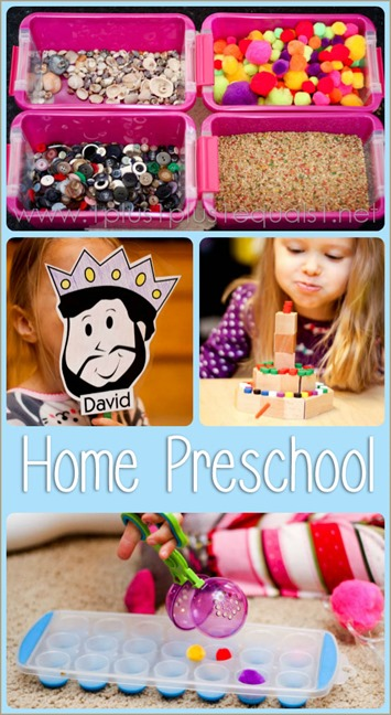 Home Preschool March 2014