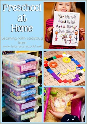 Preschool at Home Feb 2014