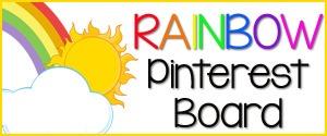 Rainbow Pinterest Board