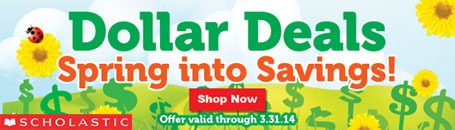 Scholastic Dollar Deals Spring 2014