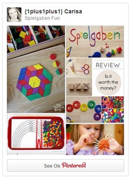 Spielgaben Fun Pinterest Board