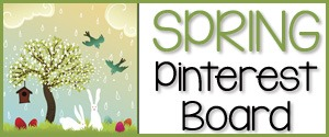 Spring Theme Pinterest Board