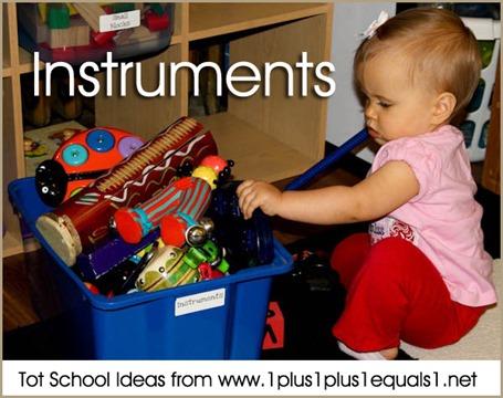 Tot School Instruments 12-18 Months