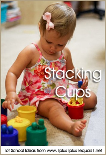 Tot School Stacking Cups 12-18 Months