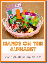 Hands on the Alphabet