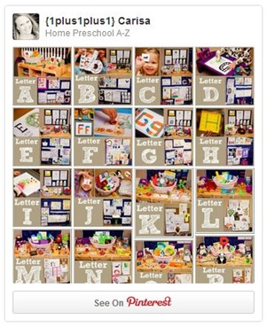 Home Preschool A to Z Pinterest Board from www.1plus1plus1equals1.net