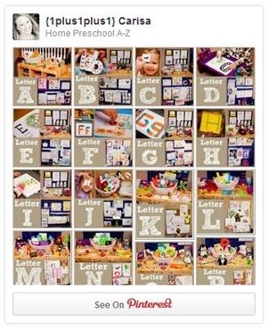 Home Preschool A to Z Pinterest Board from www.1plus1plus1equals1.net