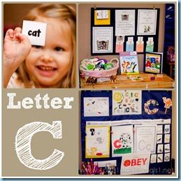 Home Preschool Letter C