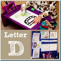 Home Preschool Letter D