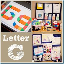 Home Preschool Letter G