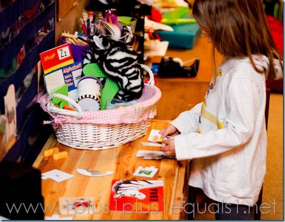 Home Preschool Letter Z -6528